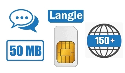LANGIE Global SIM card